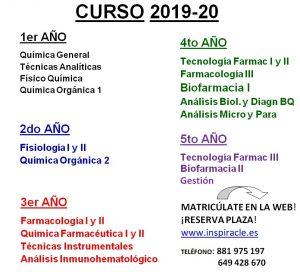 Curso 2018-1º