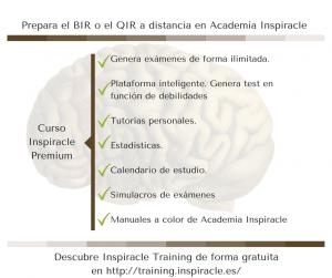 Prepara el BIR o el QIR